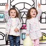 ropa estampa floreal para nena invierno 2015 Soft Red
