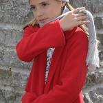 saco rojo para nenas L'Elefantino invierno 2015