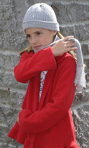 saco rojo para nenas - LElefantino invierno 2015