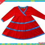 vestido nangas largas para bebe para bebes invierno 2015 Naniabi