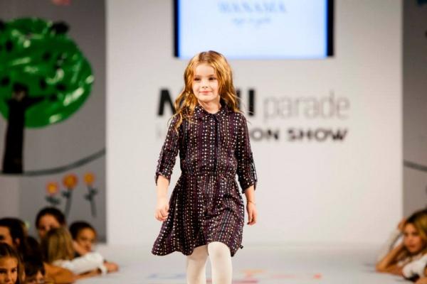 Wanama Boys & Girls - vestido estampado mangas largas para nena verano 2015