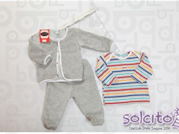 conjunto de plus bebe Solcito invierno 2015