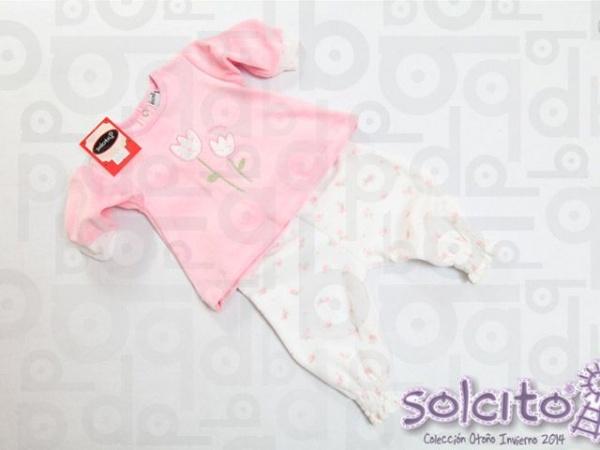 conjunto de plush nena Solcito invierno 2015