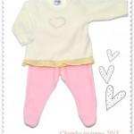 conjunto de plush para bebes nene Chamba invierno 2015