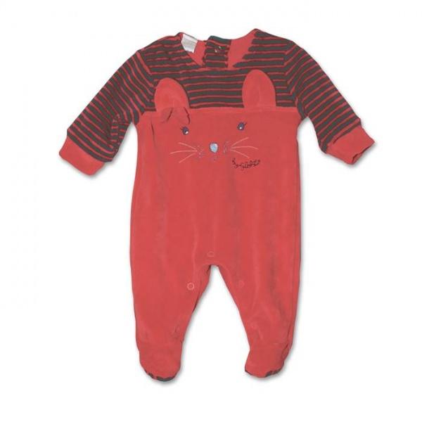enterito de plush para bebe nene Globito invierno 2015