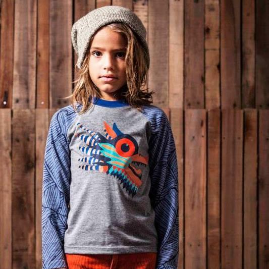 remera mangas largas animales para chicos Primera Huella invierno 2015