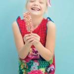 vestido con estampas de flores y mariposas para nenas tendencia verano 2016