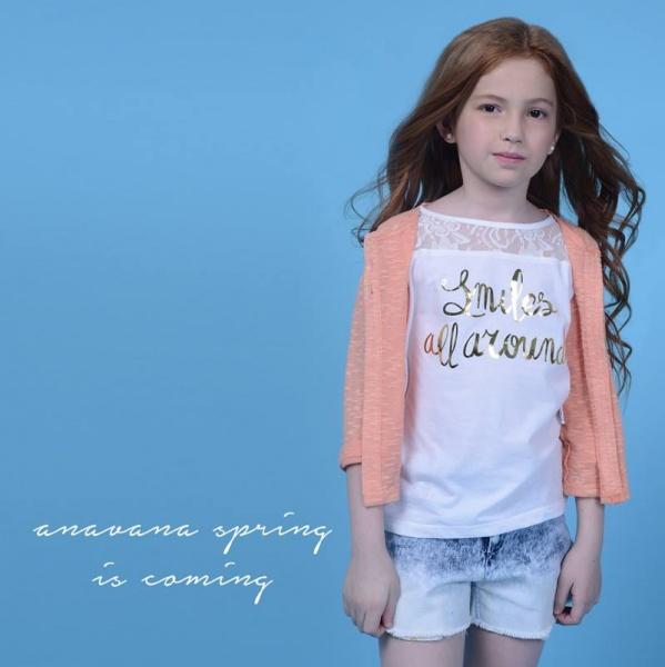 Anavana - moda para nenas verano 2016