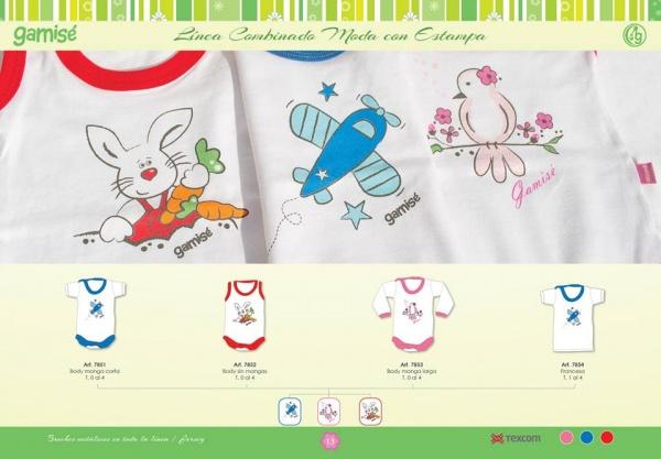 GAMISE - body para bebes primavera verano 2016