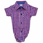camisa etilo enterito bebe bebe verano 2016 Infinita Ternura