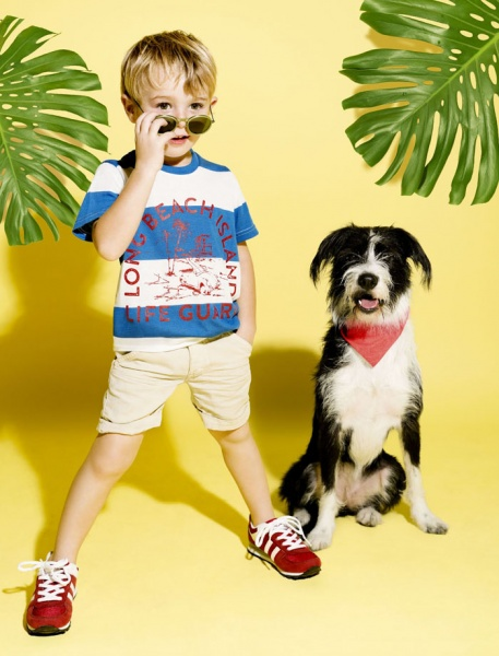 remera a rayas para nenes CHEEKY primavera verano 2016