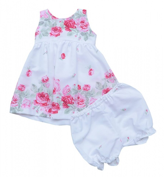 vestido estampado bebe bebe verano 2016 - Infinita Ternura