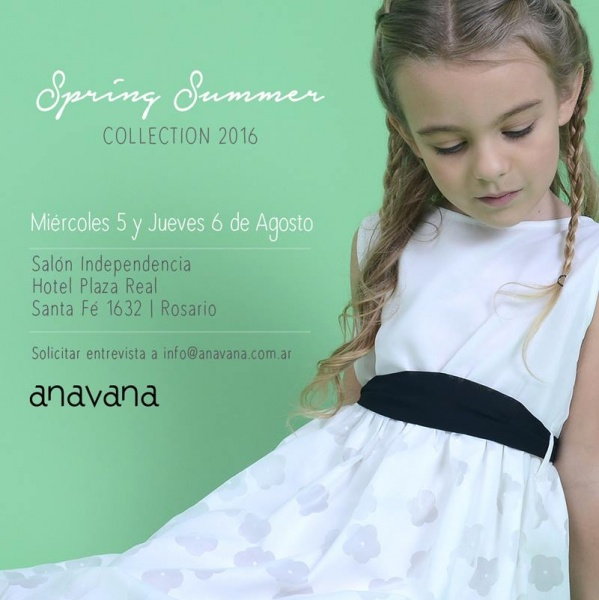 vestido niña Anavana - moda para nenas verano 2016