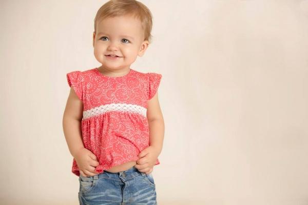 Minimimo - blusa estampada beba primavera verano 2016
