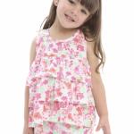 Pecosos vestido estampado nena primavera verano 2016