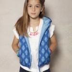 blusa encaje y chaleco nena Rapsodia Kids verano 2016