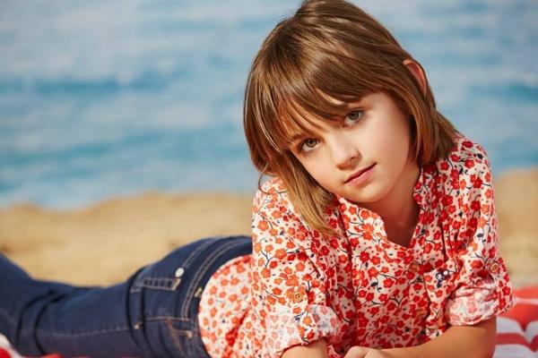 camisa estampa floral niña verano 2016 Paula Cahen D Anvers Niños