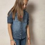 camisa jeans nena Rapsodia Kids verano 2016