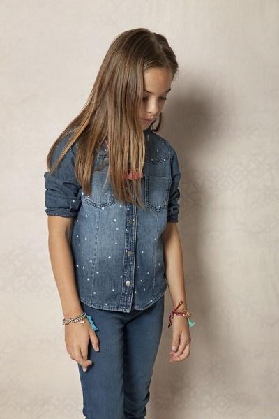 camisa jeans nena - Rapsodia Kids verano 2016