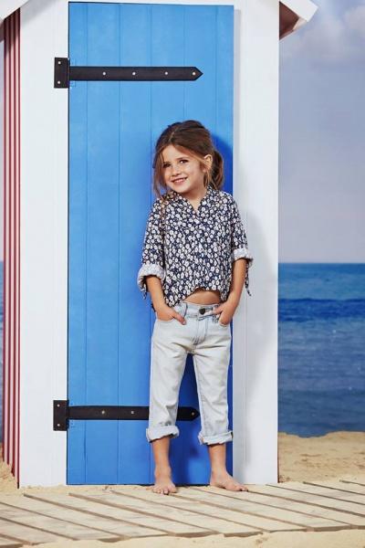 camisa para niñas  verano 2016 - Paula Cahen D Anvers Niños