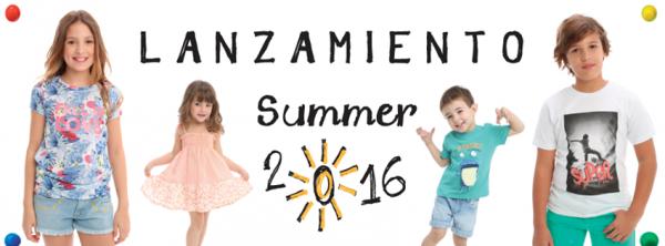 Moda verano 2017 ni os for Jardin infantil verano 2016