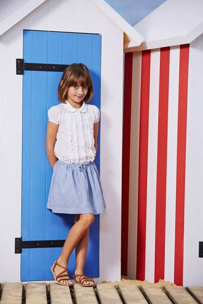 pollera corta para nenas verano 2016 Paula Cahen D Anvers Niños