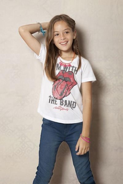 remera nena - Rapsodia Kids verano 2016