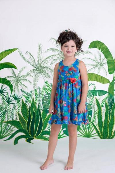 solero floral para nenas Zuppa Chicos verano 2016