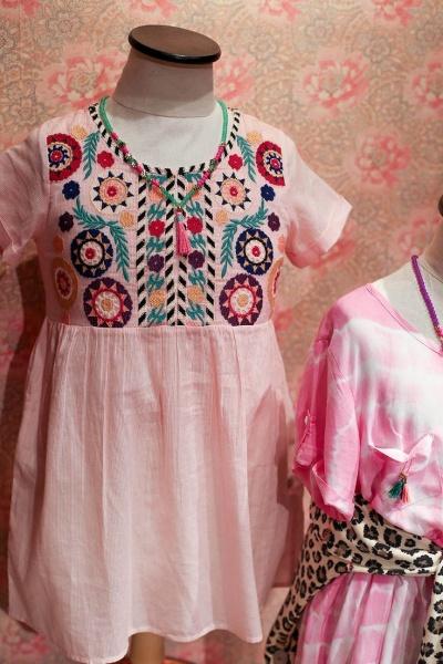 vestido bordado nena - Rapsodia Kids verano 2016