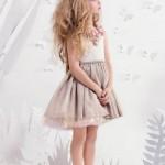 vestido de fiesta para nenas primavera verano 2015 16