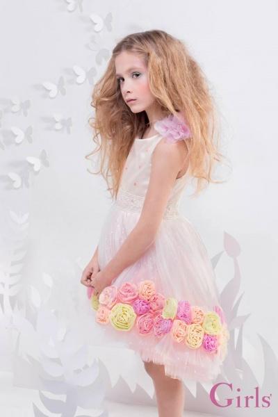 vestido de fiesta para niñas verano 2016