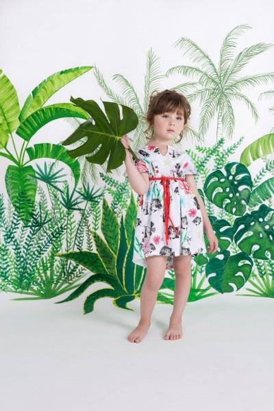 vestido estampado para nenas Zuppa Chicos verano 2016