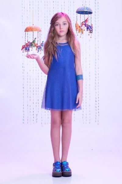 vestido fiesta nenas verano 2016 - So Cippo