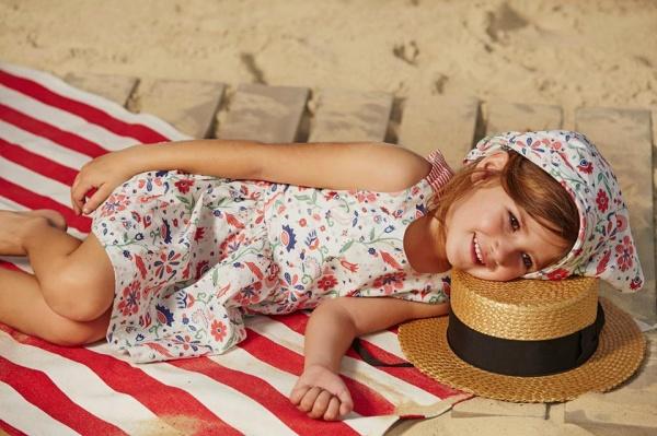 vestido para el dia nenas  verano 2016 - Paula Cahen D Anvers Niños