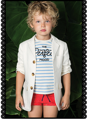 Little Akiabara - saco remera y short varon verano 2016