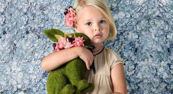 Little Akiabara - vestido fiesta niña verano 2016