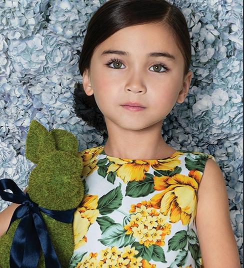 Little Akiabara - vestido floreado nena verano 2016