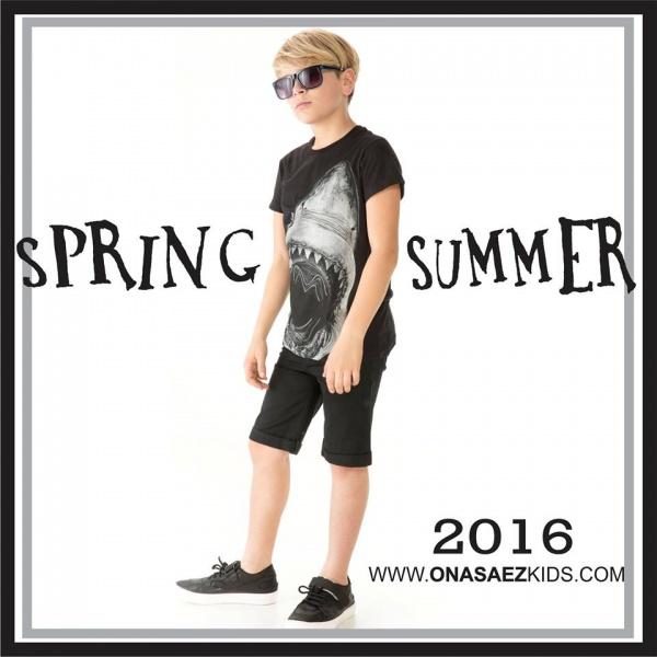 Ona Saez Kids verano 2016 - Bermuda para chicos
