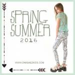 Ona Saez Kids verano 2016 calza estampada nena