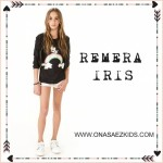 Ona Saez Kids verano 2016 remera con frase para nena
