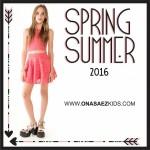 Ona Saez Kids verano 2016 vestido encaje para niñas