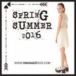Ona Saez Kids verano 2016 vestido microtul bordado para nenas