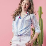 PIOPPA camisa y short nena primavera verano 2016