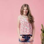 PIOPPA remera sandia y short jeans primavera verano 2016