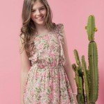 PIOPPA vestido estampado floral nena primavera verano 2016