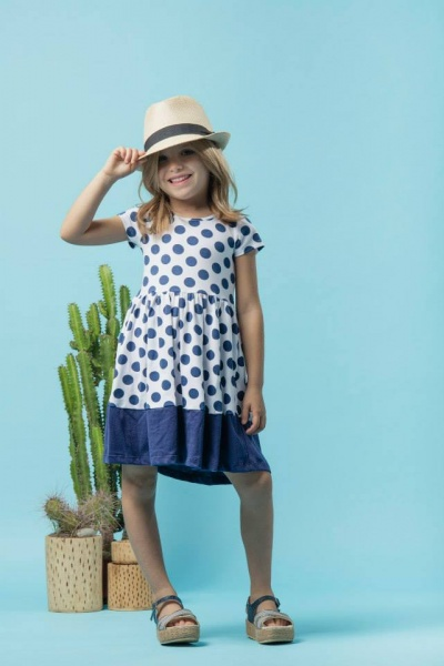 PIOPPA vestido para niñas a lunares primavera verano 2016