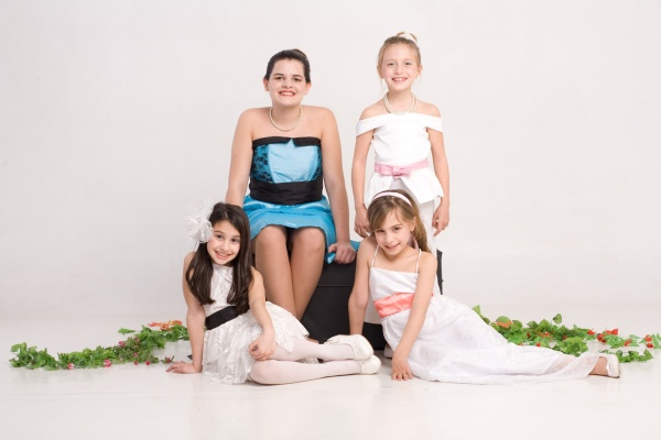 Imagenes de vestidos de fiesta infantiles