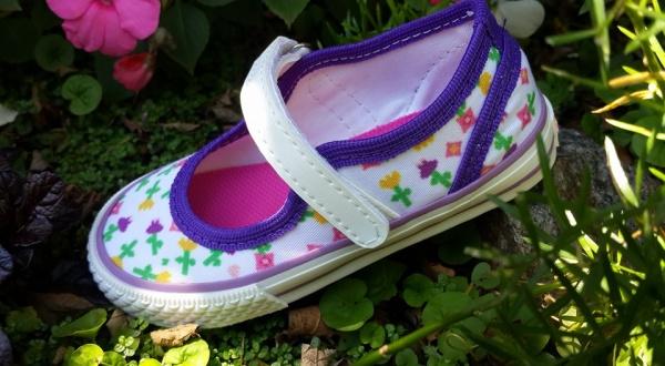 Joe Hopi calzado infantil - guillermina lona estampada nena verano 2016