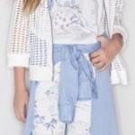 Kosiuko Kids pantalon estampado nena y camperita calada verano 2016