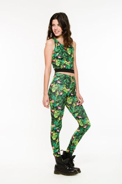 Queen Juana - calza hojas para niñas verano 2016